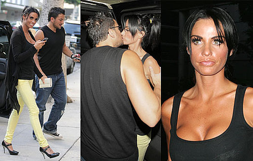 Photos Of Jordan a.k.a. Katie Price And Peter Andre In LA For Breast Reduction Surgery 2008-08-05 03:00:00