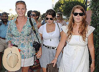 Photos Of Princess Beatrice, Princess Eugenie And Sarah Ferguson On Holiday In Spain