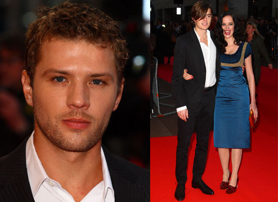 Photos of ryan phillippe eva green and sam riley at the 2008 london