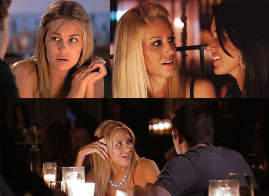 "The Hills Recap Quiz: Episode Seven ""When Lauren's Away"" Sun. 9 Nov. Lauren Conrad, Audrina Patridge, Heidi Montag"