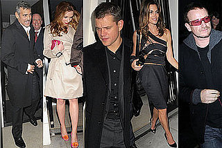 Photos Of Party For Darfur With George Clooney, Matt Damon, Scarlett Johansson, Cindy Crawford, Bono, and Many More