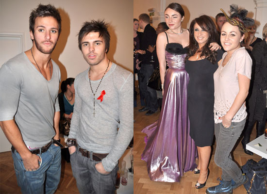 Photos Of Big Brother 9's Stuart Pilkington and Dale Howard at Ann Summers Party with Lois Winstone and Jaime Winstone