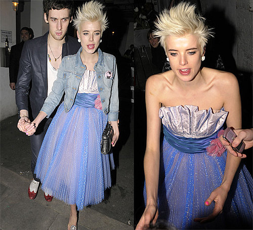 Love it or Hate it? Agyness Deyn at Bistroteque