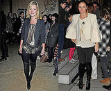Photo of Kate Moss and Stella McCartney in Over the Knee Boots