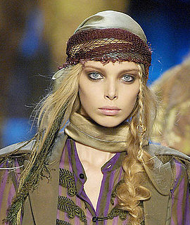 How to get the latest catwalk hair trend - pirate plaits as at Jean Paul Gaultier
