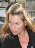Photo of Kate Moss and daughter Lila Grace at Clinic in London 22nd August 2008. New Twist Hair Style. Love or Hate her Look?
