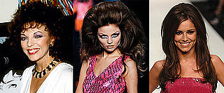 Catwalk Runway Autumn Winter Trend: Big Hair Like Christian Dior, Cheryl Cole and Joan Collins in Dynasty