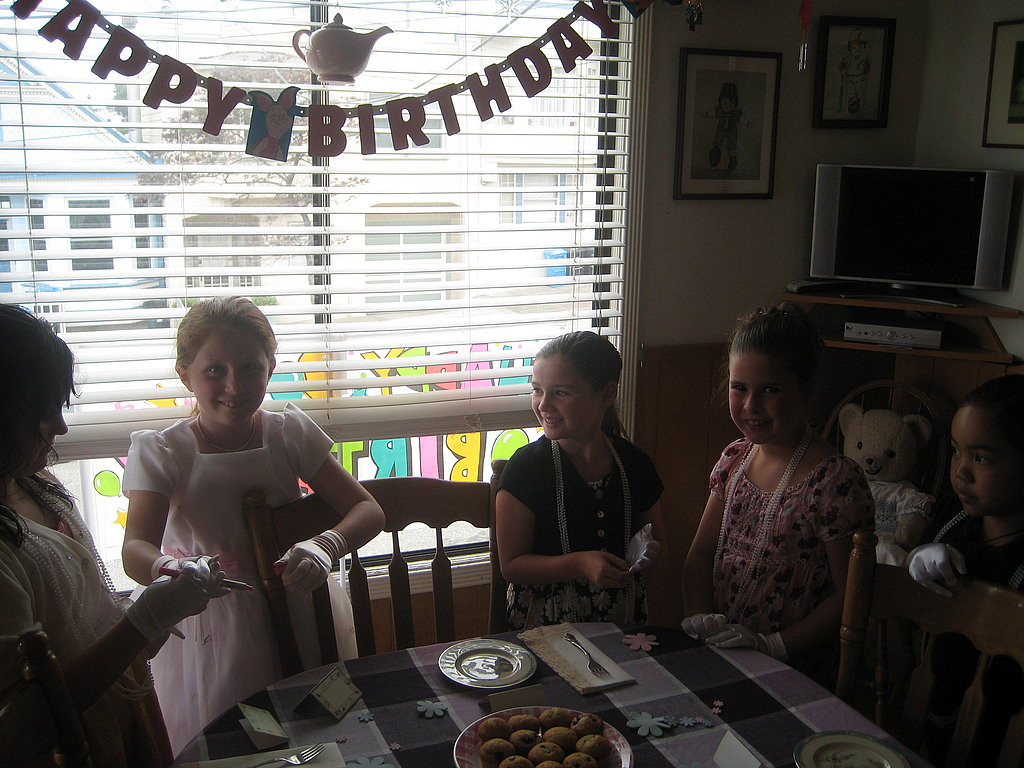 Caitlin's 8th Birthday Tea Party