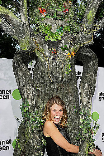 Angela Lindvall, Tree Hugger