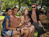 Chanel Iman, Jourdan Dunn, Eniko Mihalik, Stella McCartney.