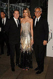 James Mischka, Hana Soukupova in Badgley Mischka, and Mark Badgley.