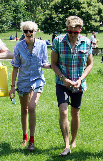 Agyness Deyn and Henry Holland.