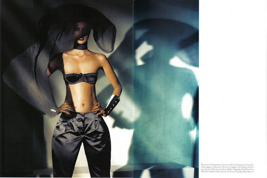 Yasmin Warsame Returns To Her Beginnings for Vogue Italia July 2008