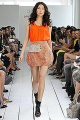 Kate Lanphear Works the (Julie) Haus for Spring 2009