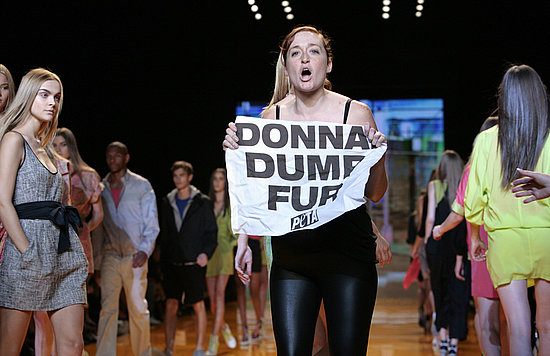 PETA Helps DKNY Ring In Year Twenty
