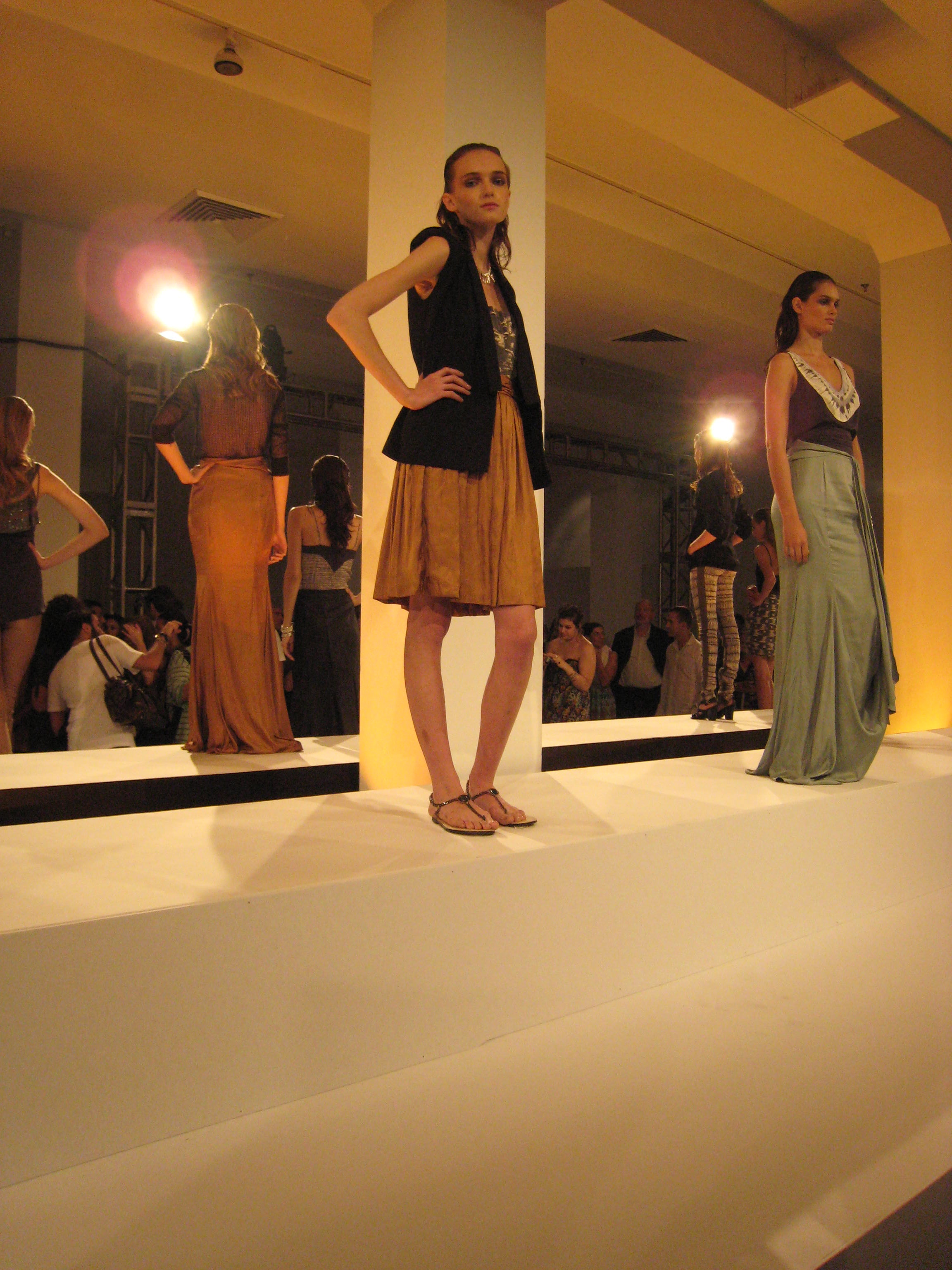 Mountains of Monkfish and Other Sundry Skins at Vena Cava Spring 2009