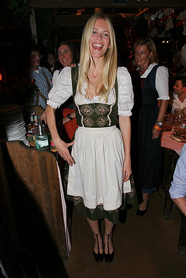 Claudia Schiffer Kicks Up Her German Heels