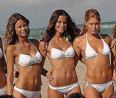 Flavia Oliveira, Izabel Goulart, Doutzen Kroes.