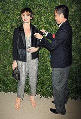 Juliette Lewis and Phillip Lim.