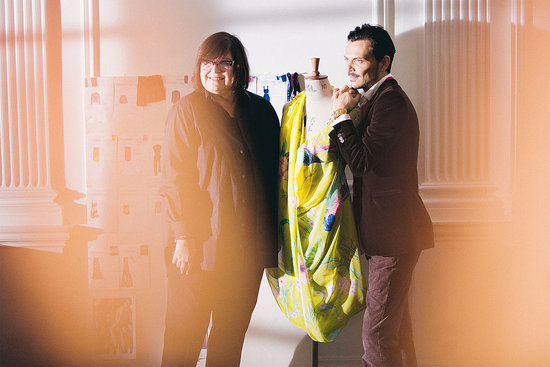 H&amp;M&#039;s Margareta van den Bosch and Matthew Williamson.