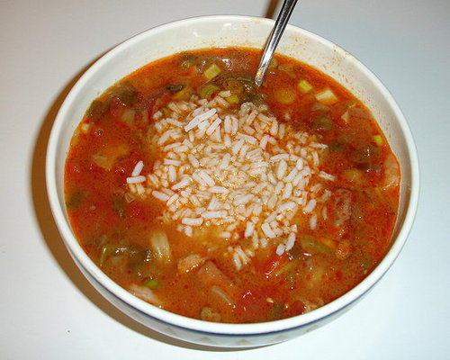 Modified Paula Deen Gumbo