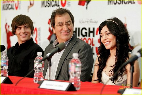 High School Musical 3 Press Conference part 1