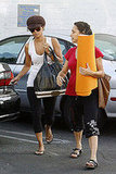 Halle Berry Going to Yoga