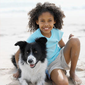 The Family Dog Helps Control Childhood Obesity