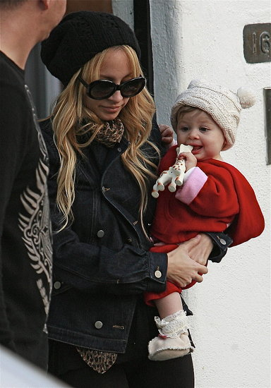 Hats on For Nicole and Harlow