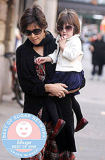 Best of 2008: Suri Takes Most Stylish Tot