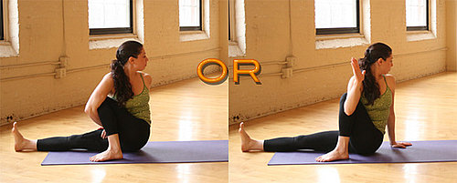 Strike a Yoga Pose:  1-Legged Seated Spinal Twist
