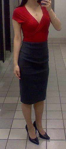 Pencil skirt classic