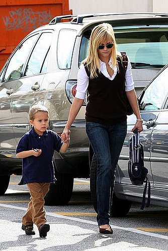 Reese And Nicole With Their Kids