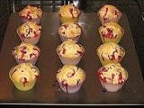 Cranberry Sour Cream Muffins