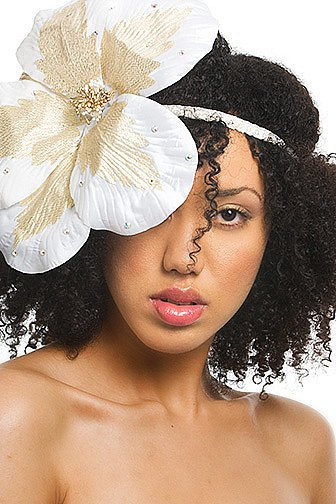 Flower headband { by Aubrey O&#039;Day }