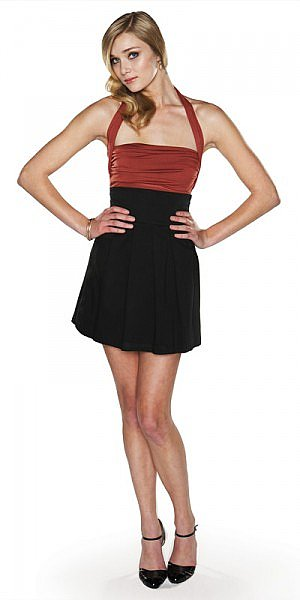 Charlize Top and Gabrielle Skirt fall 2008 lauren conrad