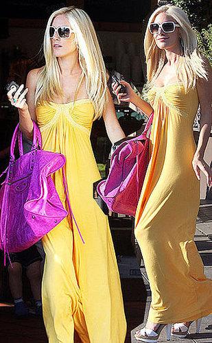 Heidi tries fashion... did she pull it off?