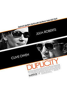 Julia Roberts and Clive Owen Star in Duplicity — Now Playing