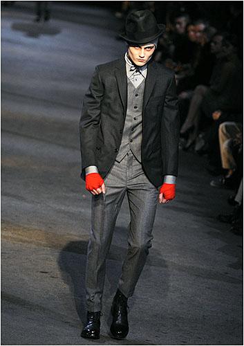International: Men's Fashion---Milan 09
