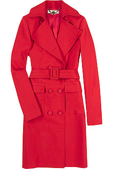 Stella McCartney Linen cotton trench coat 