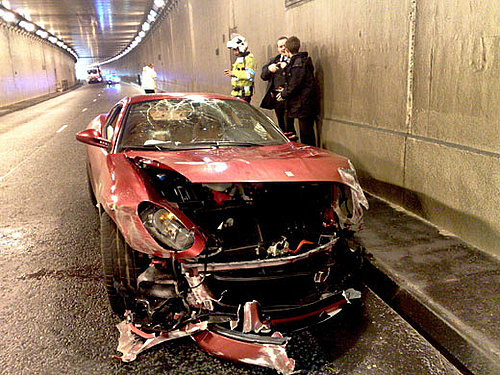 Christiano Ronaldo Uninjured after Car Accident