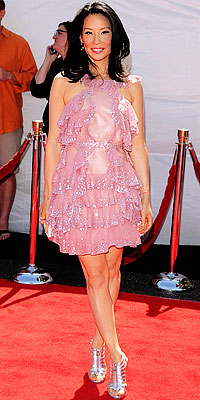 Lucy Liu's dress - Flashy or Trashy?
