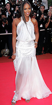 Naomi campbell's dress - Flashy or Trashy?