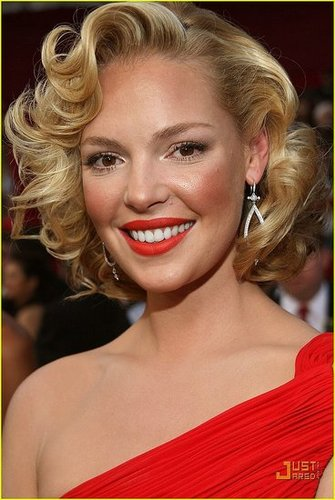 Katherine Heigl's dress - Flashy or Trashy?