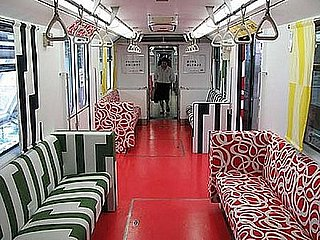 Cool Idea:  Ikea Trains
