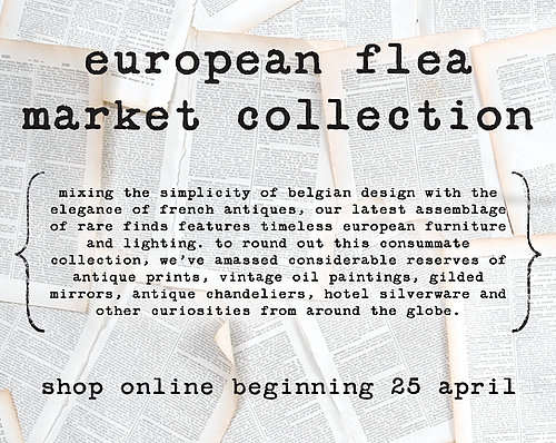 This Just In: Jayson Home & Garden European Flea Market Launches Online
