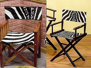 Less or More: Zebra Director Chairs