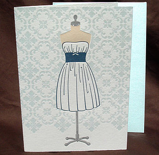 The Card Shop: Dress Form