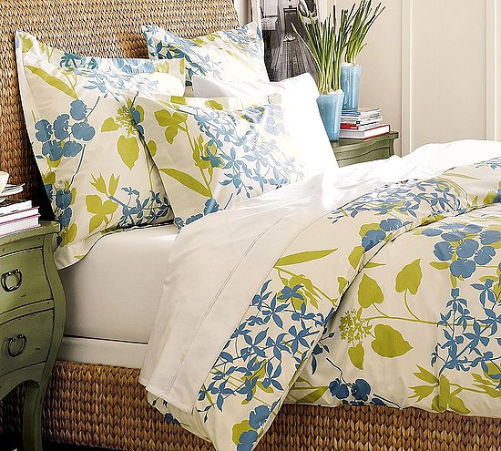 Go organic for the summer with this Fiona Organic Duvet Cover and Sham ($39-$139).