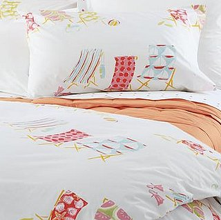 Summer Style: Garnet Hill Beach Break Percale Bedding